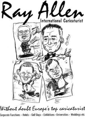 Jon Anton Presents...Caricaturists For Hire For Your Special Event.