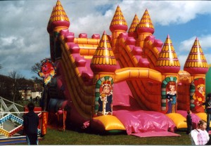 Jon Anton Presents...a Very Large Range of INFLATABLES and Bouncy Castles available of all sizes & styles. From the Traditional BOUNCY CASTLE with various theme decorations: Disney & Space Themes, TV Favourites & Cartoon Themes.