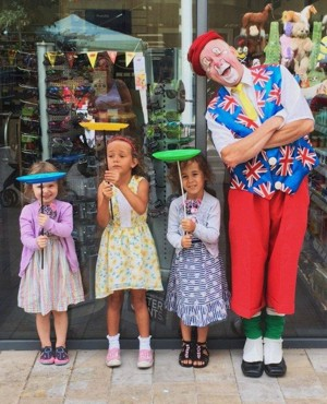 Jon Anton Presents...a Huge Variety of Clowns of All kinds for All occasions.