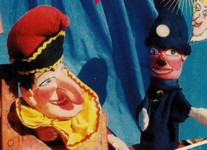 Punch and Judy Puppet Show.