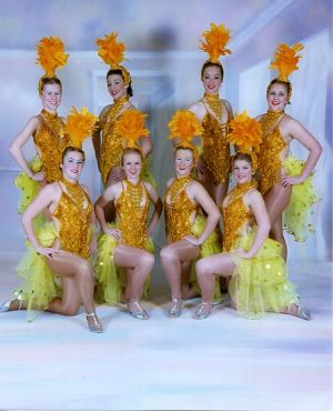 Jon Anton Presents...our Very own Dazzling Troupe of SHOWGIRLS...The SHOWTIME Dancers!