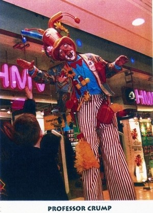 Jon Anton Presents...large selection of STILTWALKERS as a variety of Characters & Clowns