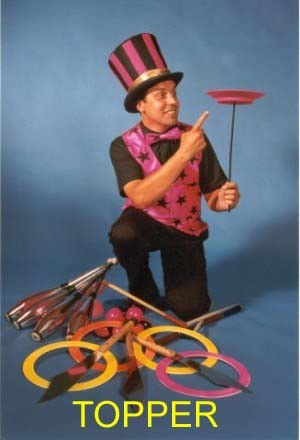 Jon Anton Presents...Juggling, Balloon Modelling, Platespinning, Stilts, Unicycling, Acrobatics. Wizards, Clowns & Musical Entertainers.